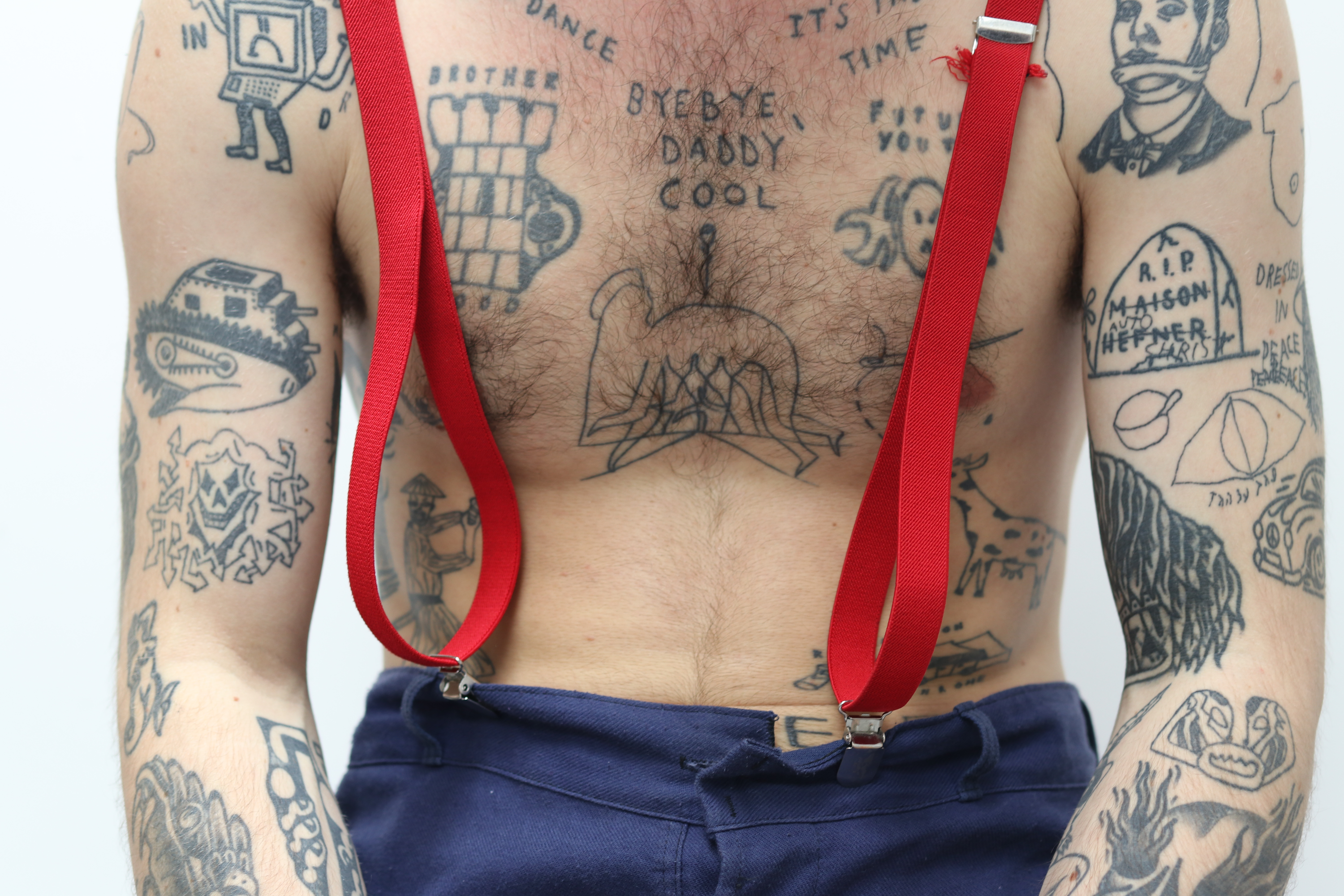 be7b23864 Graffiti taught Monty the non-technical skills of tattooing – to take  risks, to stand by his work – but marking walls was temporary, unlike skin,  ...